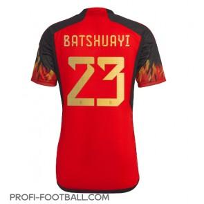 Belgia Michy Batshuayi #23 Kotipaita EM-Kisat 2020 Lyhyet Hihat