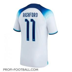 Englanti Marcus Rashford #11 Kotipaita EM-Kisat 2020 Lyhyet Hihat
