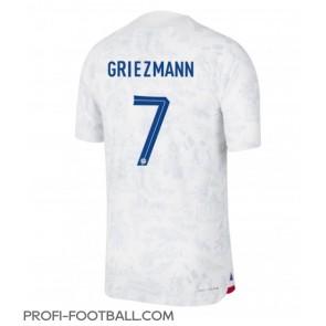 Ranska Antoine Griezmann #7 Vieraspaita EM-Kisat 2020 Lyhyet Hihat