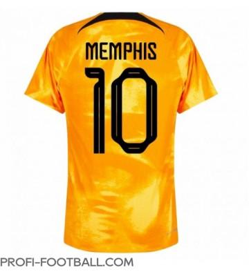 Alankomaat Memphis Depay #10 Kotipaita EM-Kisat 2020 Lyhyet Hihat