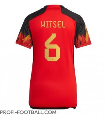 Belgia Axel Witsel #6 Kotipaita Naisten EM-Kisat 2020 Lyhyet Hihat