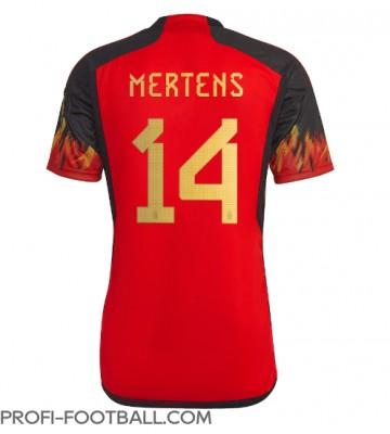 Belgia Dries Mertens #14 Kotipaita EM-Kisat 2020 Lyhyet Hihat