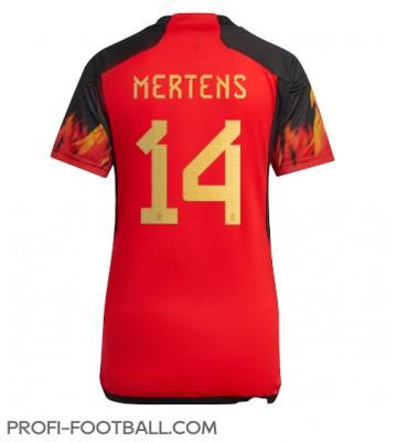 Belgia Dries Mertens #14 Kotipaita Naisten EM-Kisat 2020 Lyhyet Hihat