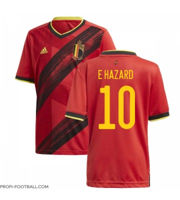 Belgia Eden Hazard #10 Kotipaita EM-Kisat 2020 Lyhyet Hihat