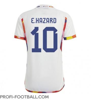 Belgia Eden Hazard #10 Vieraspaita EM-Kisat 2020 Lyhyet Hihat