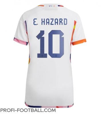 Belgia Eden Hazard #10 Vieraspaita Naisten EM-Kisat 2020 Lyhyet Hihat