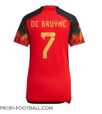 Belgia Kevin De Bruyne #7 Kotipaita Naisten EM-Kisat 2020 Lyhyet Hihat