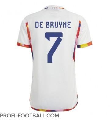Belgia Kevin De Bruyne #7 Vieraspaita EM-Kisat 2020 Lyhyet Hihat