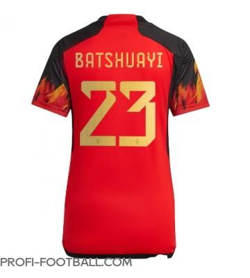Belgia Michy Batshuayi #23 Kotipaita Naisten EM-Kisat 2020 Lyhyet Hihat