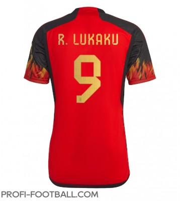 Belgia Romelu Lukaku #9 Kotipaita EM-Kisat 2020 Lyhyet Hihat