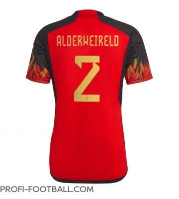 Belgia Toby Alderweireld #2 Kotipaita EM-Kisat 2020 Lyhyet Hihat