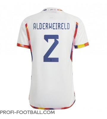 Belgia Toby Alderweireld #2 Vieraspaita EM-Kisat 2020 Lyhyet Hihat