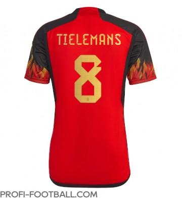 Belgia Youri Tielemans #8 Kotipaita EM-Kisat 2020 Lyhyet Hihat
