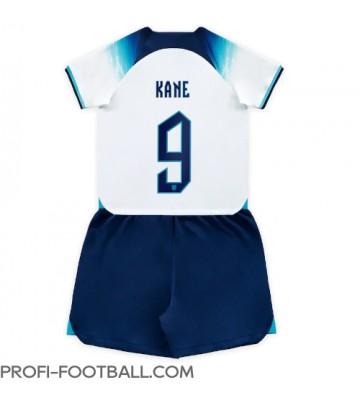 Englanti Harry Kane #9 Koti Pelipaita Lasten EM-Kisat 2020 Lyhyet Hihat (+ Lyhyet housut)