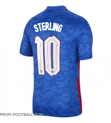 Englanti Raheem Sterling #10 Vieraspaita EM-Kisat 2020 Lyhyet Hihat