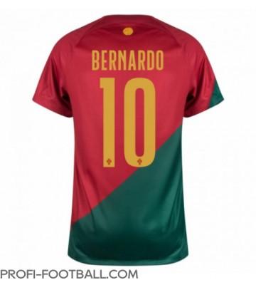 Portugali Bernardo Silva #10 Kotipaita EM-Kisat 2020 Lyhyet Hihat