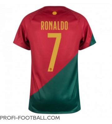 Portugali Cristiano Ronaldo #7 Kotipaita EM-Kisat 2020 Lyhyet Hihat
