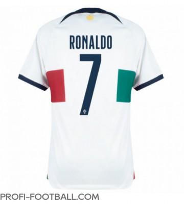 Portugali Cristiano Ronaldo #7 Vieraspaita EM-Kisat 2020 Lyhyet Hihat