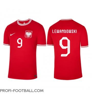 Puola Robert Lewandowski #9 Vieraspaita EM-Kisat 2020 Lyhyet Hihat