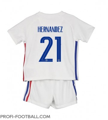 Ranska Lucas Hernandez #21 Vieras Pelipaita Lasten EM-Kisat 2020 Lyhyet Hihat (+ Lyhyet housut)