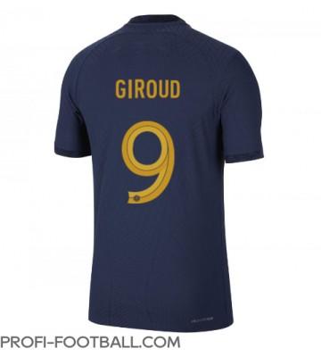 Ranska Olivier Giroud #9 Kotipaita EM-Kisat 2020 Lyhyet Hihat
