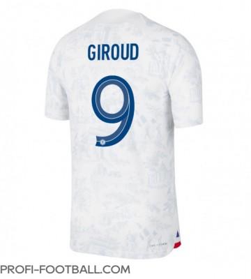 Ranska Olivier Giroud #9 Vieraspaita EM-Kisat 2020 Lyhyet Hihat