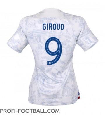 Ranska Olivier Giroud #9 Vieraspaita Naisten EM-Kisat 2020 Lyhyet Hihat