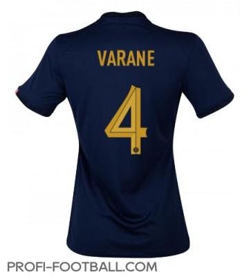Ranska Raphael Varane #4 Kotipaita Naisten EM-Kisat 2020 Lyhyet Hihat