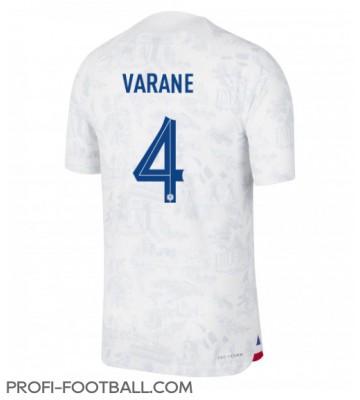 Ranska Raphael Varane #4 Vieraspaita EM-Kisat 2020 Lyhyet Hihat