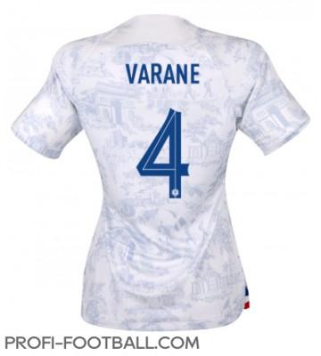 Ranska Raphael Varane #4 Vieraspaita Naisten EM-Kisat 2020 Lyhyet Hihat