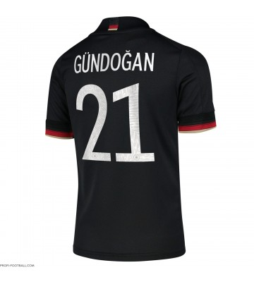 Saksa Ilkay Gundogan #21 Vieraspaita EM-Kisat 2020 Lyhyet Hihat