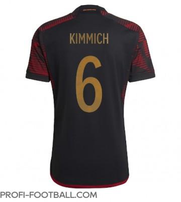 Saksa Joshua Kimmich #6 Vieraspaita EM-Kisat 2020 Lyhyet Hihat