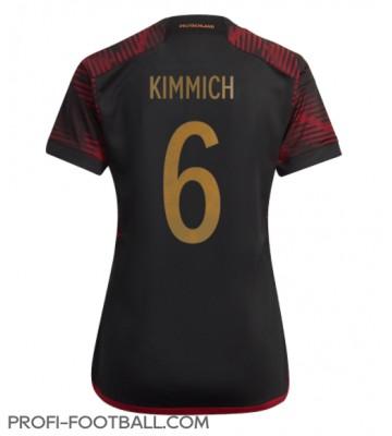 Saksa Joshua Kimmich #6 Vieraspaita Naisten EM-Kisat 2020 Lyhyet Hihat