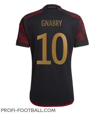 Saksa Serge Gnabry #10 Vieraspaita EM-Kisat 2020 Lyhyet Hihat