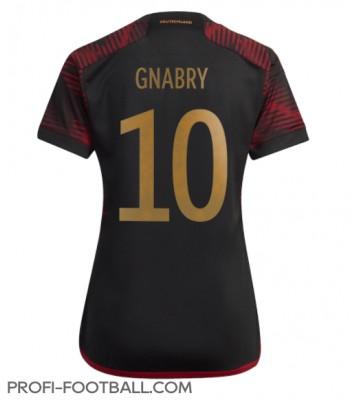 Saksa Serge Gnabry #10 Vieraspaita Naisten EM-Kisat 2020 Lyhyet Hihat