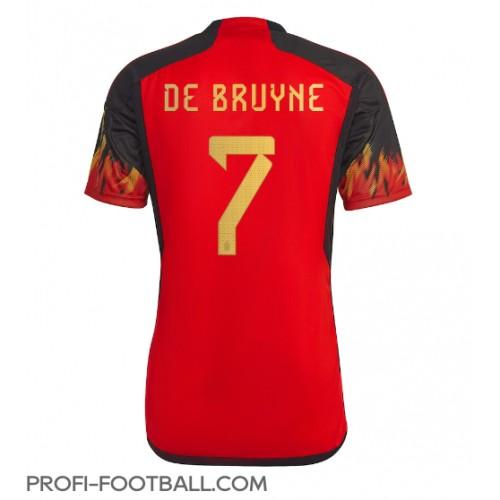 Belgia Kevin De Bruyne #7 Kotipaita EM-Kisat 2020 Lyhyet Hihat